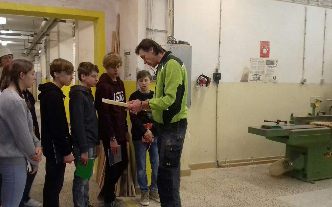 Exkurze – Střední škola designu a řemesel v Kladně